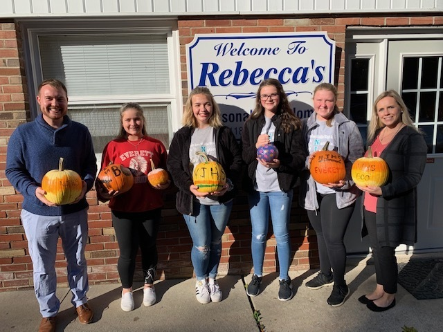 MS NJHS advisors, Mr. Rosenberger & Mrs. Styer, had students decorate pumpkins to take to an area nursing home. Thank you for your community outreach everyone.