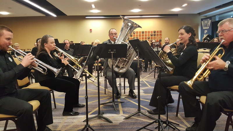 Nathaniel Maxwell at PMEA All-State Conference