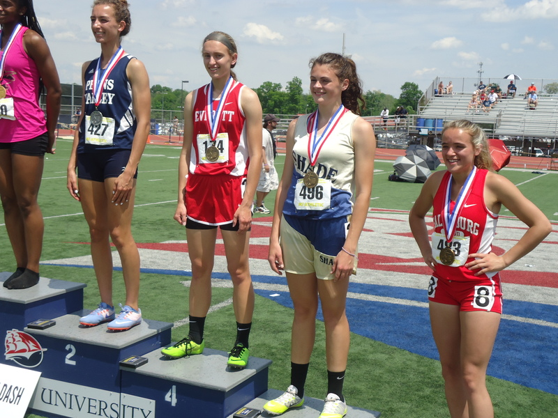 Kaitlyn Maxwell Places At PIAA Track Meet In Shippensburg